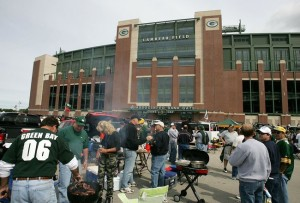 Tailgating at Lambeau