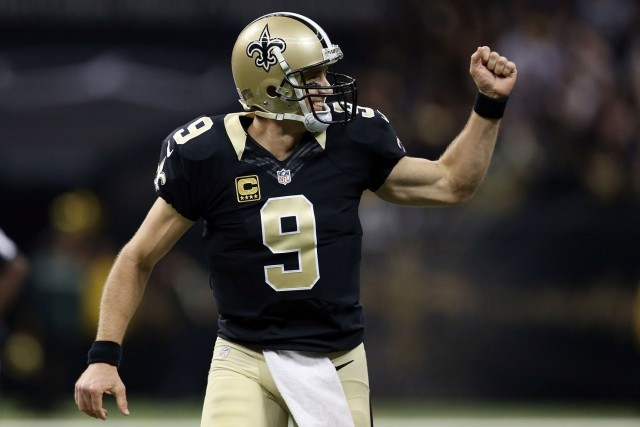 drew brees week 9